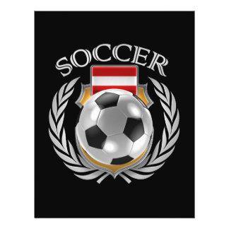 Austria Soccer 2016 Fan Gear Flyer