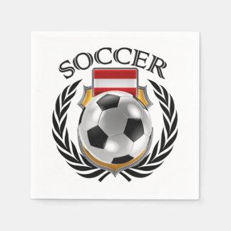 Austria Soccer 2016 Fan Gear Napkin