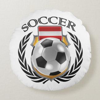Austria Soccer 2016 Fan Gear Round Pillow