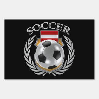 Austria Soccer 2016 Fan Gear Sign