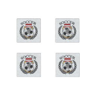 Austria Soccer 2016 Fan Gear Stone Magnet