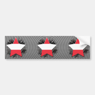 Austria Star Bumper Sticker