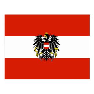 Austria State Flag Postcard