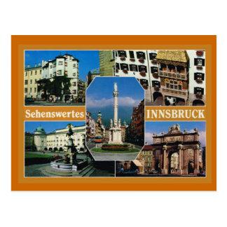 Austria,  Tirol, Innsbruck, Multiview Post Cards