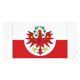 Austria Tyrol Flag Card