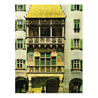 Austria, Tyrol, Innsbruck Golden roof Postcard