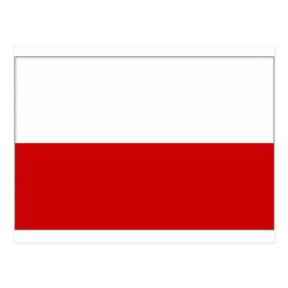Austria Upper Austria Flag Postcard
