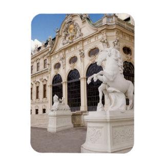 Austria, Viena, palacios del belvedere, superiores Imán Rectangular