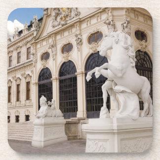Austria, Vienna, Belvedere Palaces, Upper Beverage Coaster
