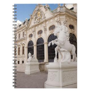 Austria, Vienna, Belvedere Palaces, Upper Notebook