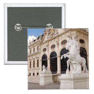 Austria, Vienna, Belvedere Palaces, Upper Pinback Button