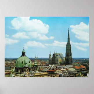 Austria, Vienna, St Stephen's cathedral Poster