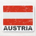 Austria Vintage Flag Mouse Pad