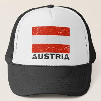 Austria Vintage Flag Trucker Hat