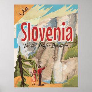 Austria Vintage Travel Poster