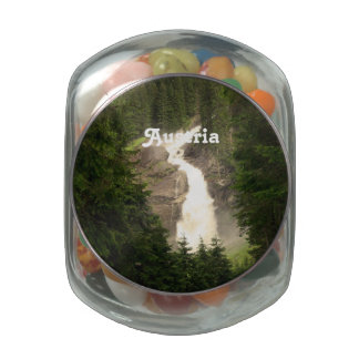 Austria Waterfall Jelly Belly Candy Jars