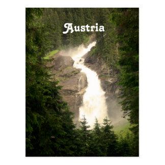 Austria Waterfall Postcard