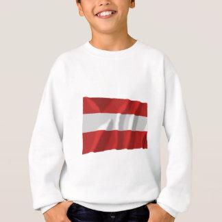 Austria Waving Civil Flag Sweatshirt