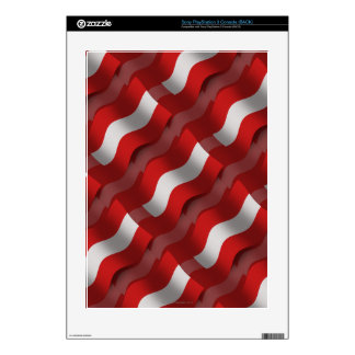 Austria Waving Flag Skin For The PS3 Console