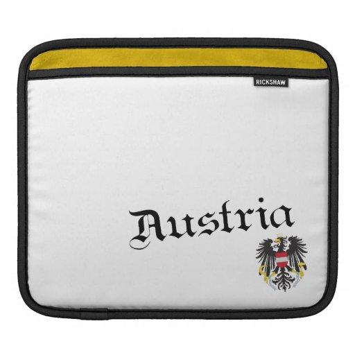 Austria y escudo de armas manga de iPad