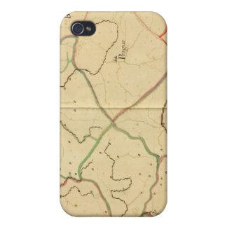 Austria y República Checa 3 iPhone 4/4S Funda