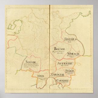 Austria y República Checa Póster