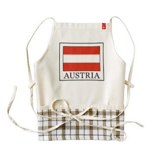 Austria Zazzle HEART Apron