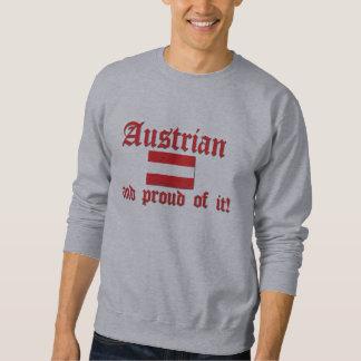 Austriaco orgulloso sudadera con capucha