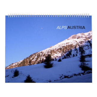 Austrian Alps Calendar
