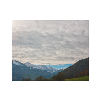 """Austrian Alps"" canvas prints"