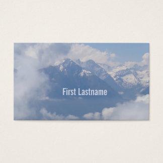 Austrian Alps custom business cards
