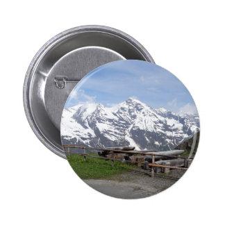 Austrian Alps custom button