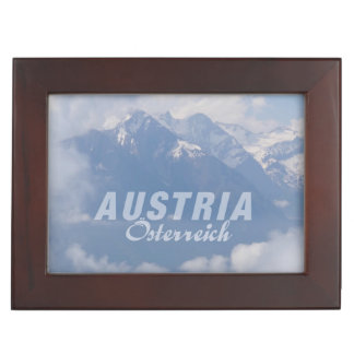 Austrian Alps custom keepsake box