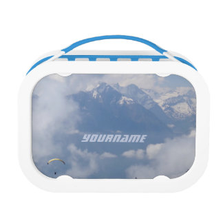 Austrian Alps custom lunch box