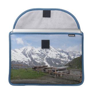Austrian Alps custom MacBook sleeves MacBook Pro Sleeve