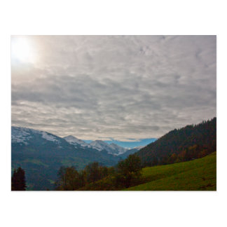 """Austrian Alps"" custom postcards"