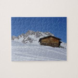 Austrian Alps in the Winter - Puzzle