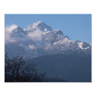 """Austrian Alps"" photo print"