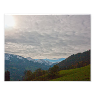 """Austrian Alps"" photo prints"