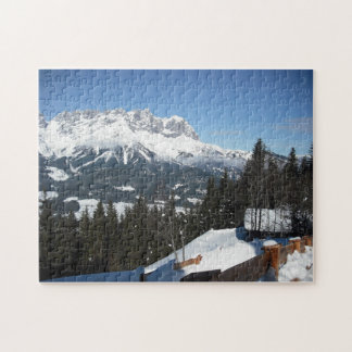 Austrian Alps Puzzle (version 1)