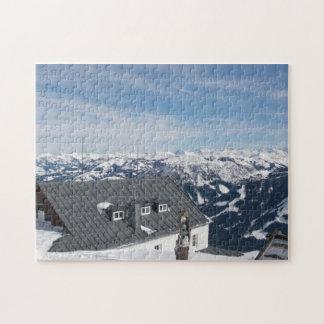Austrian Alps (version 2) Jigsaw Puzzle