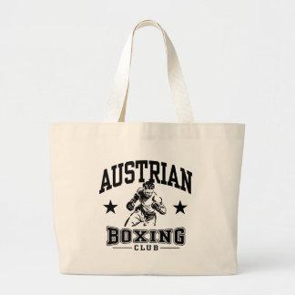 Austrian Boxing Large Tote Bag
