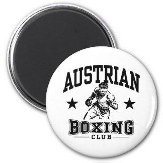 Austrian Boxing Magnet