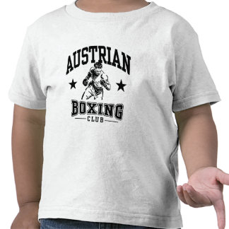 Austrian Boxing Tee Shirts
