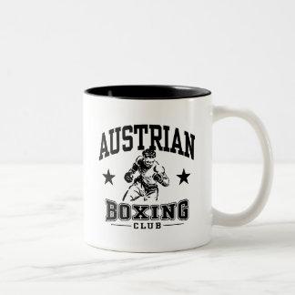 Austrian Boxing Two-Tone Coffee Mug