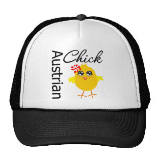 Austrian Chick Trucker Hat