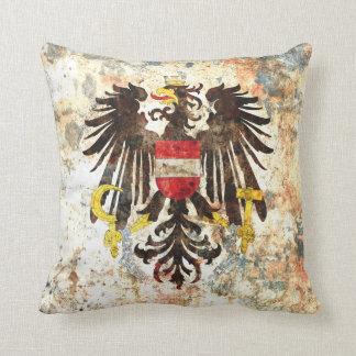 Austrian Crest Throw Pillow
