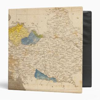 Austrian Dominions Map by Arrowsmith Vinyl Binders