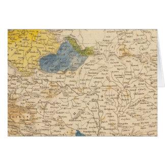 Austrian Dominions Map by Arrowsmith Card