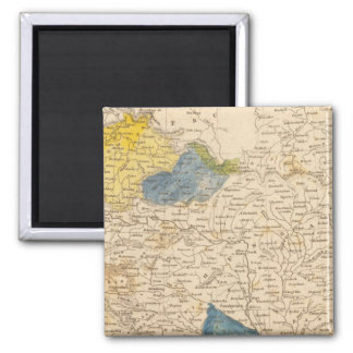 Austrian Dominions Map by Arrowsmith Refrigerator Magnet